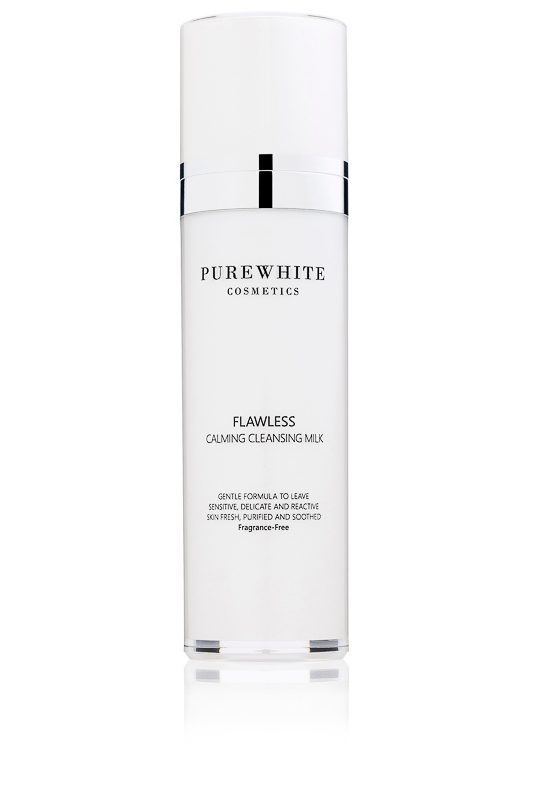Pure White Cosmetics- Flawless Calming Cleansing Milk