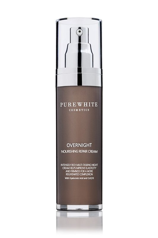 Pure White Cosmetics - Overnight Noursihing Repair Cream