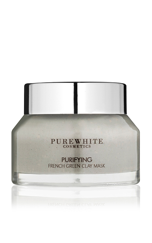 Pure White Cosmetics - Purifying French Green Clay Mask