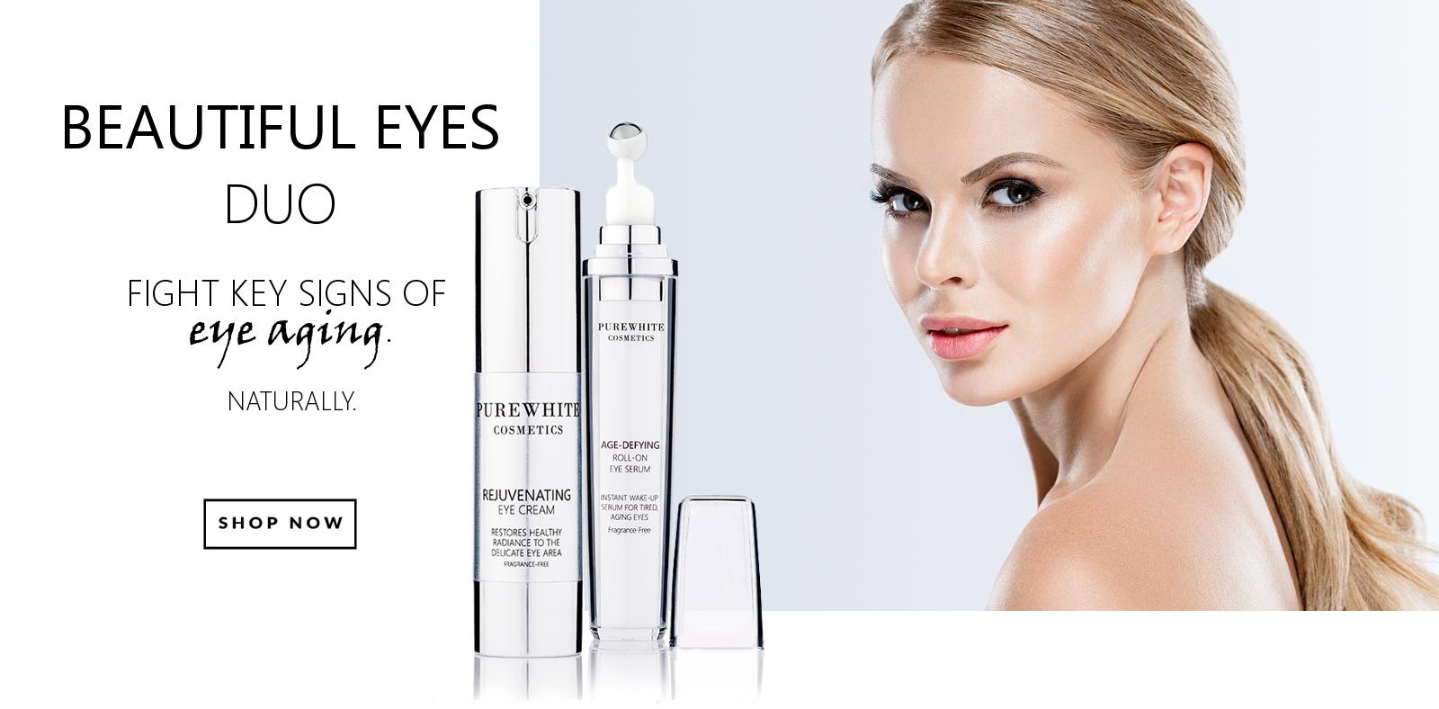 Pure White Cosmetics - Beautiful Eyes Duo