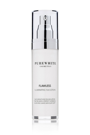 Pure White Cosmetics - Flawless Illuminating Silk Lotion