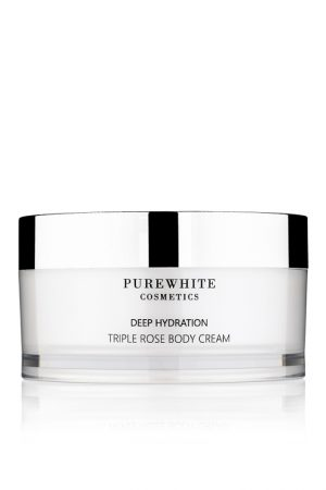 Pure White Cosmetics - Deep Hydration Triple Rose Body Cream