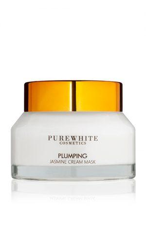 Pure White Cosmetics - Plumping Jasmine Cream Mask