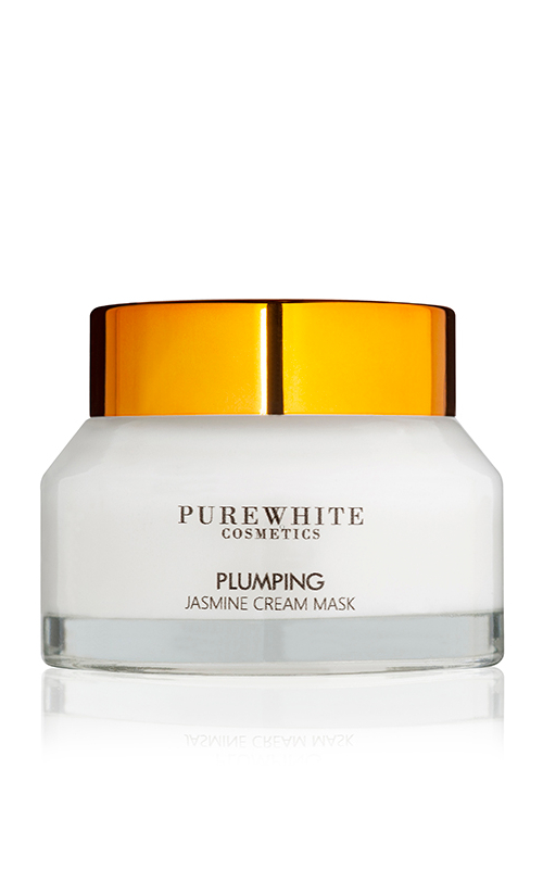 Pure White Cosmetics - Plumping Jasmine Cream Mask