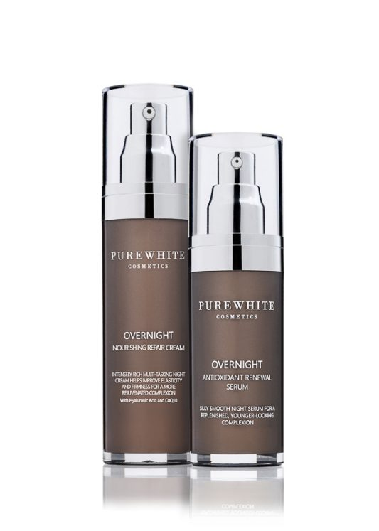 Pure White Cosmetics - Overnight Beauty Sleep Duo