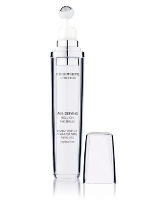 Pure White Cosmetics - Age-Defying Roll-on Eye Serum