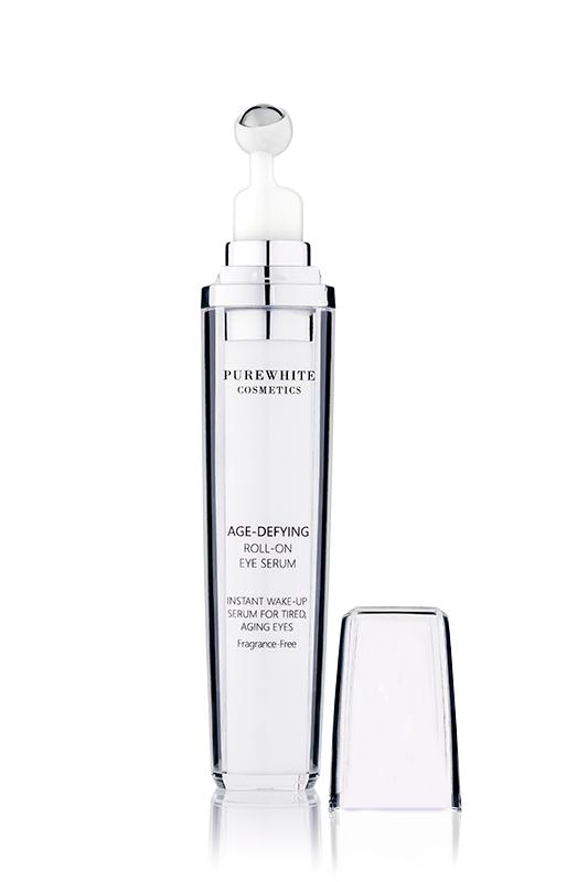 Pure White Cosmetics - Age-Defying Roll-on Eye Serum