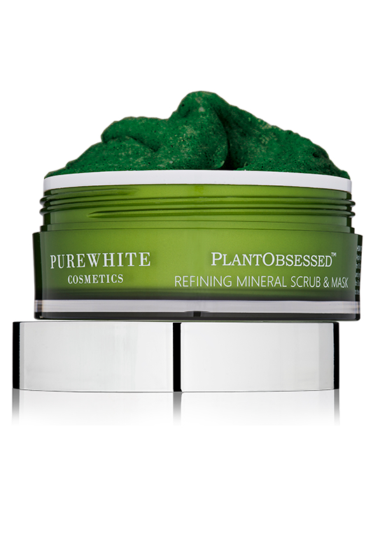 Pure White Cosmetics - PlantObsessed™ Refining Mineral Scrub & Mask