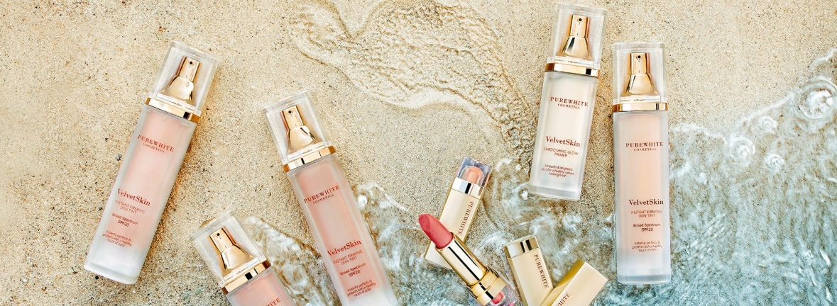 Pure White Cosmetics - VelvetSkin Collection, SunKissed Collection