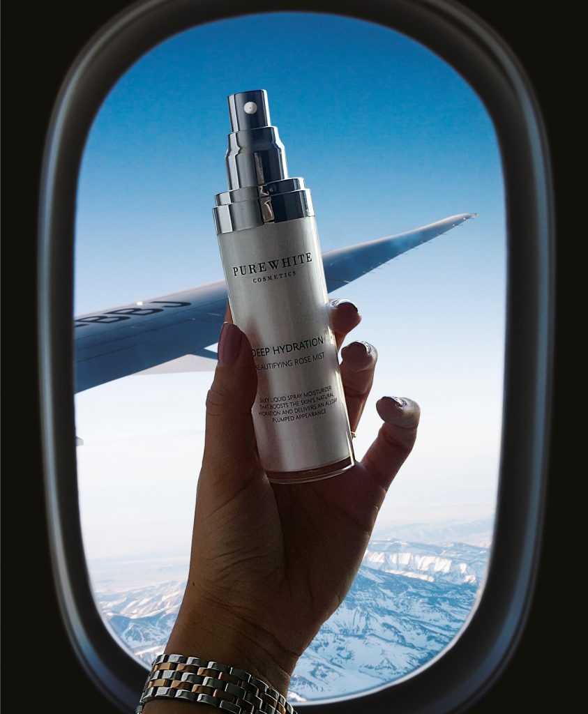 Pure White Cosmetics - The Pure Blog - Ultimate In-Flight Beauty Routine