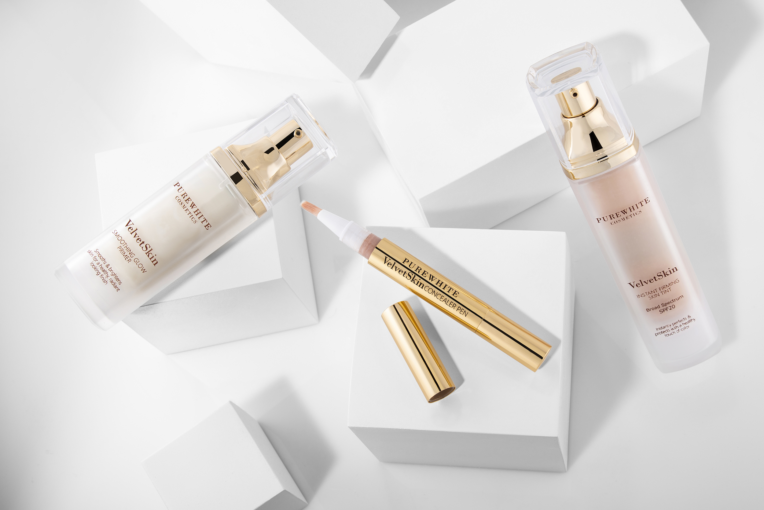 Pure White Cosmetics - VelvetSkin Collection