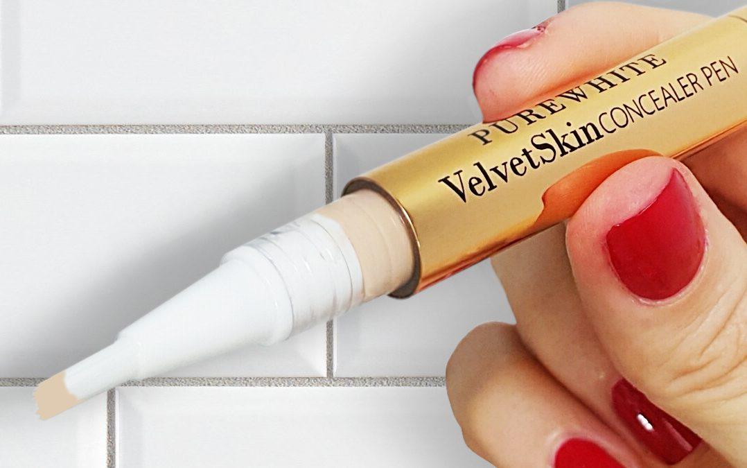 Twist, cover, correct. VelvetSkin Concealer Pen Q&A