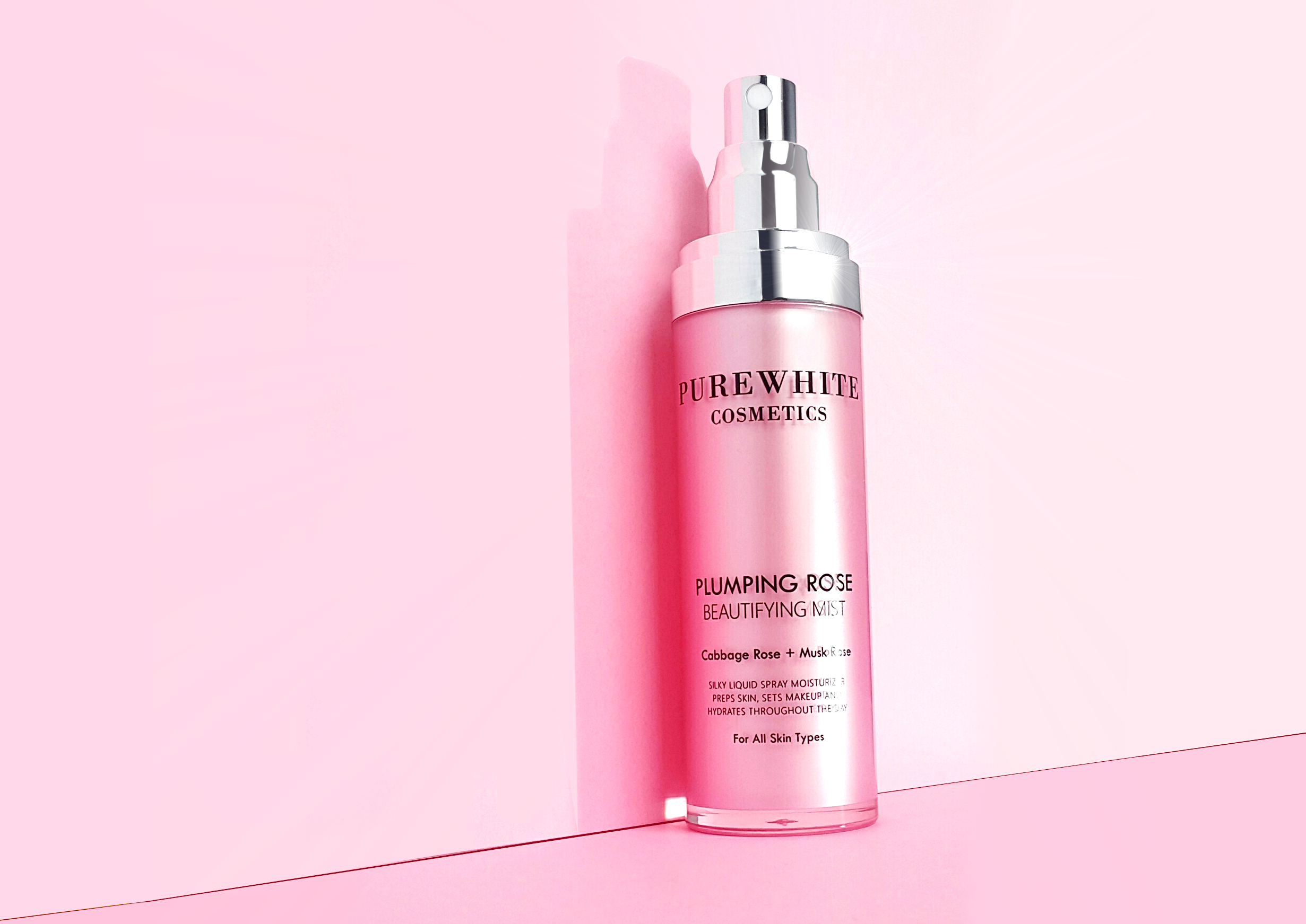 Pure White Cosmetics - Plimping Rose Beautifying Mist