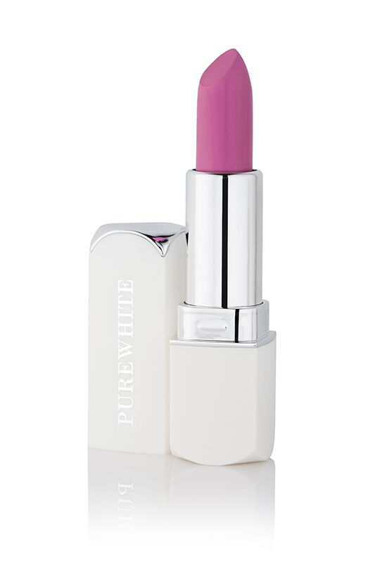 Pure White Cosmetics - Purely Inviting Satin Cream Lipstick - Berry Kiss