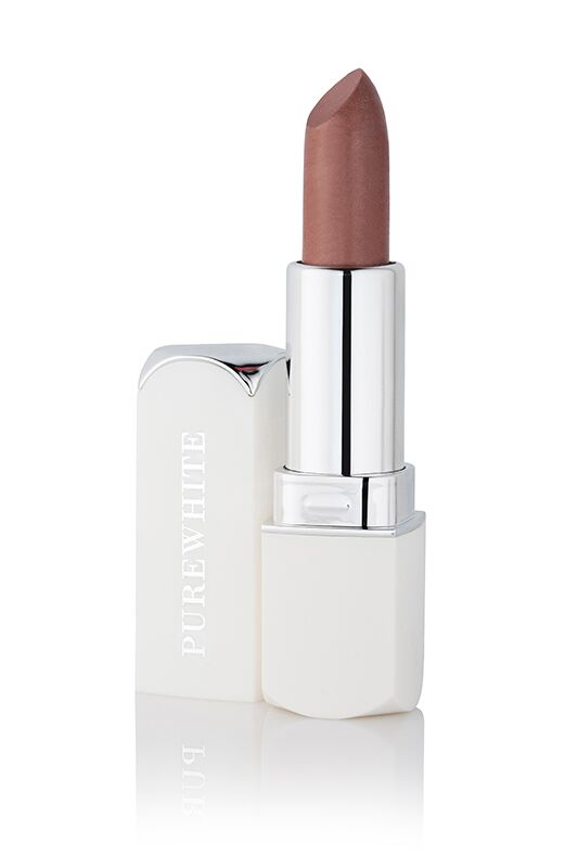 Pure White Cosmetics - Purely Inviting Satin Cream Lipstick - Coffee Cream