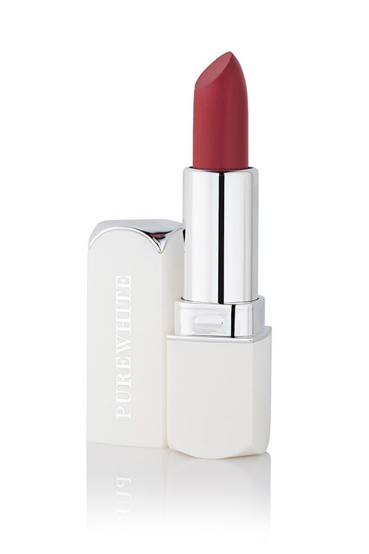 Pure White Cosmetics - Purely Inviting Satin Cream Lipstick - Fiery Fusion