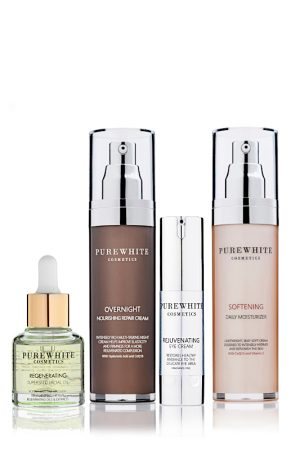 Pure White Cosmetics - Skincare Staples Set