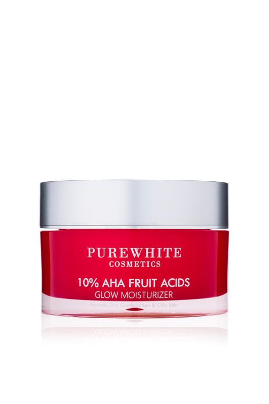Pure White Cosmetics - 10% AHA Fruit Acids Glow Moisturizer